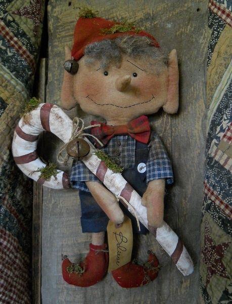 #463 Ernie the elf e pattern