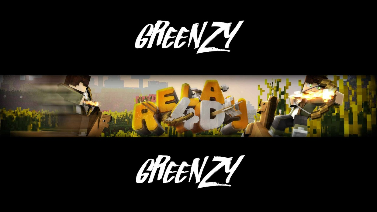 [Minecraft] Youtube Banner (incl. Profile Picture)