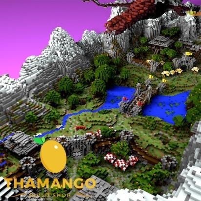 Fantasy | CTF / Team Deathmatch / PVP Map