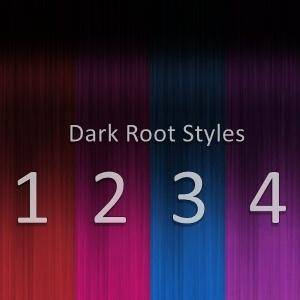 NEW Dark Root Styles - 8 colors