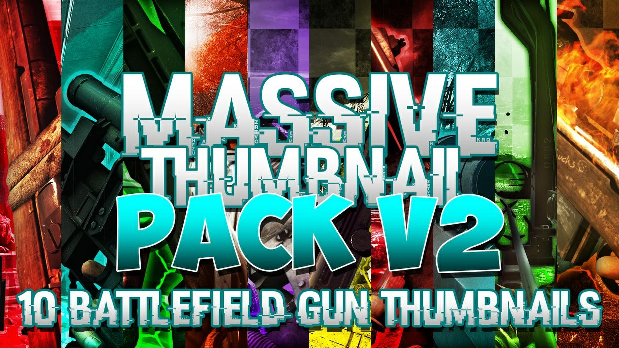 Massive Thumbnail Pack V2 - Battlefield