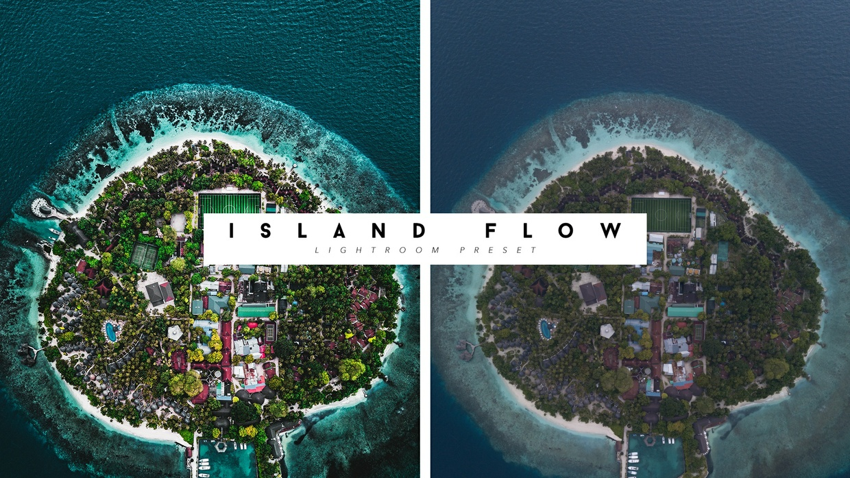 Lightoom Preset ISLAND FLOW