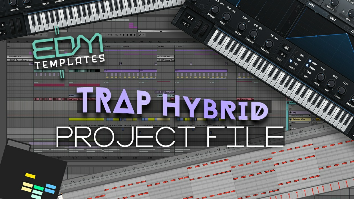 Ableton Live Trap Hybrid Template 17.01