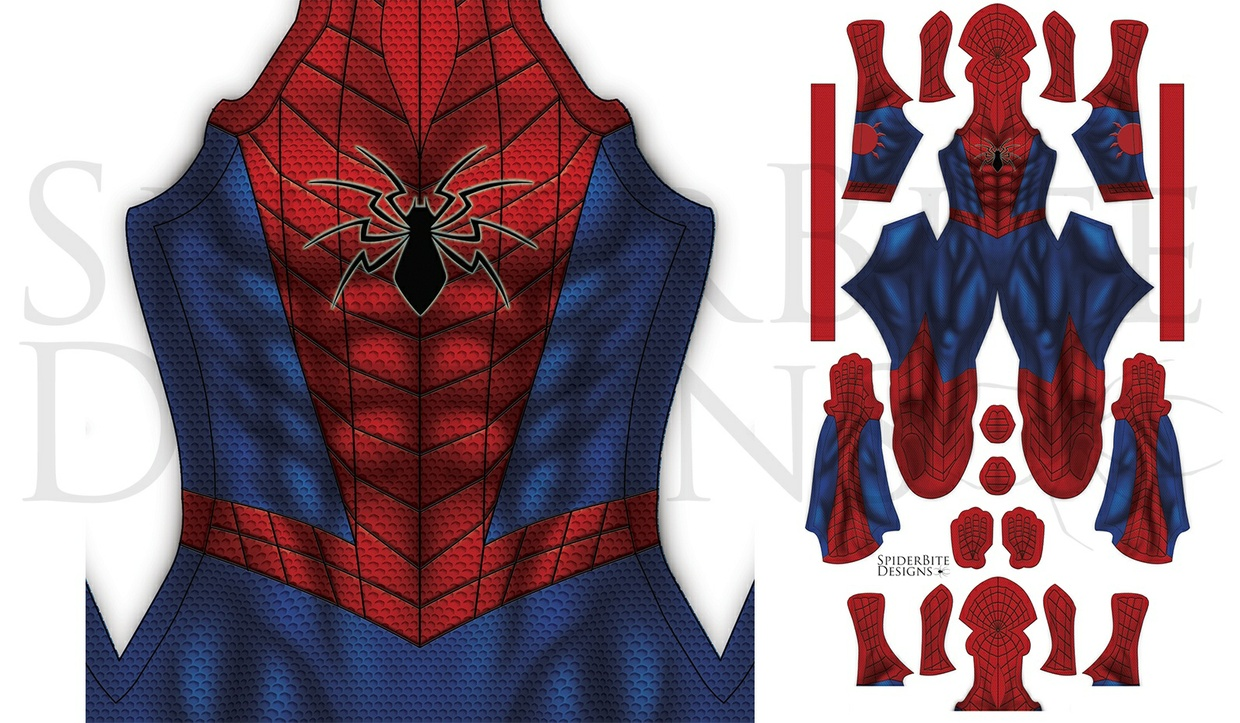 All New Spiderman texture