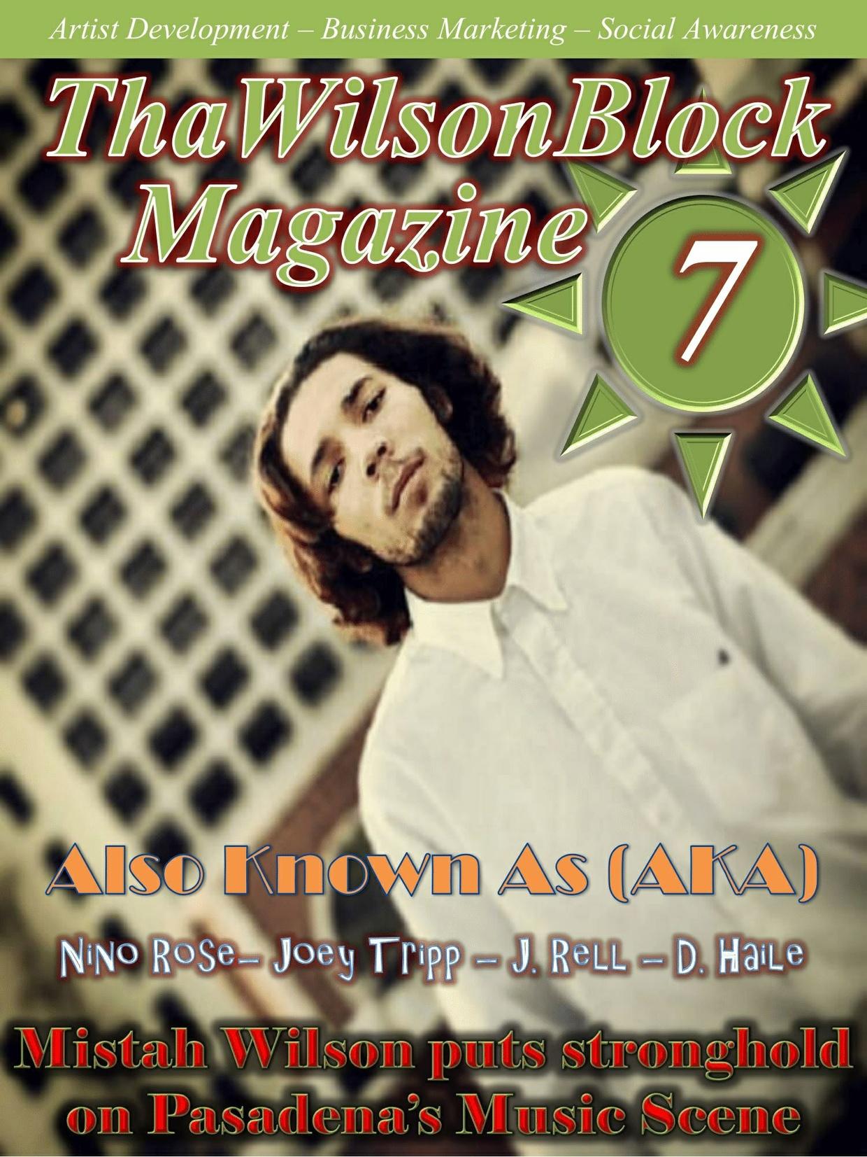 ThaWilsonBlock Magazine Issue7
