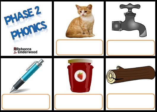 PHASE 2 PHONICS - WRITE THE WORD AND WRITE THE SENTENCE