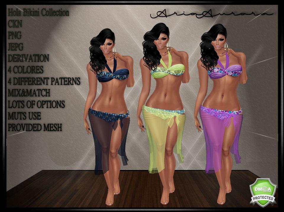 Hola Bikini Collection,No Resell!!