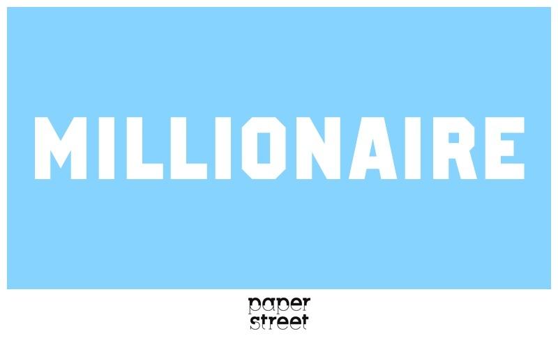 Millionaire Font
