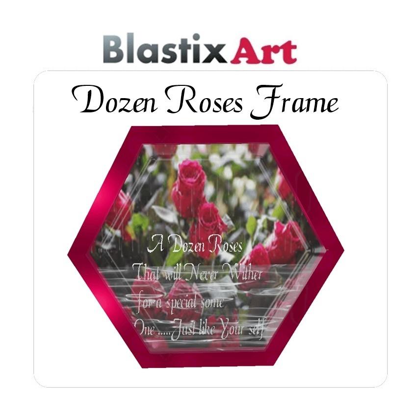 12 Dozen Roses Frame
