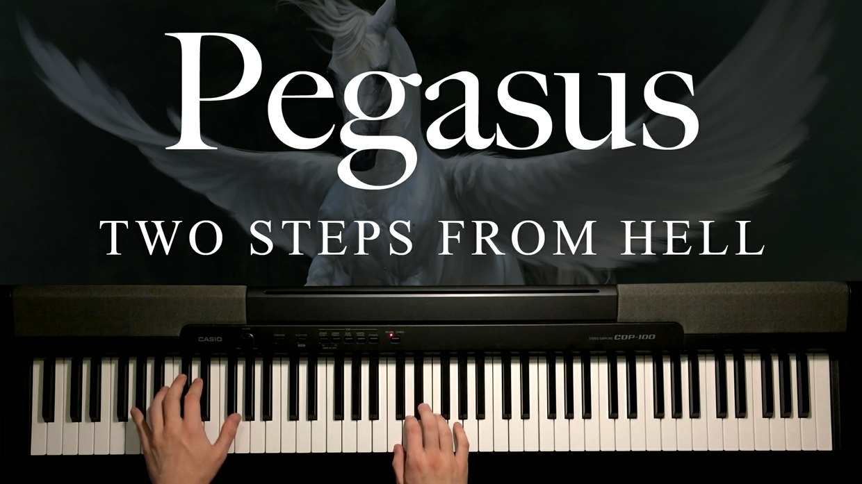 Pegasus Piano Sheet Music (Two Steps From Hell)