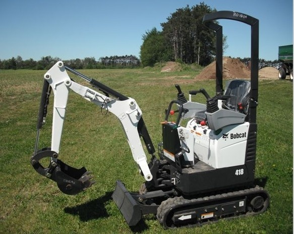 Bobcat 418 Compact Excavator Service Repair Workshop Manual DOWNLOAD (S/N AB4711001 & Above)
