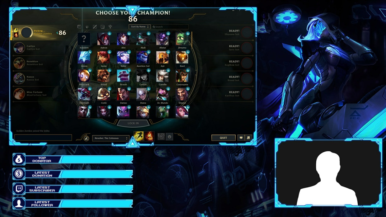 PROJECT ASHE - CLIENT OVERLAY
