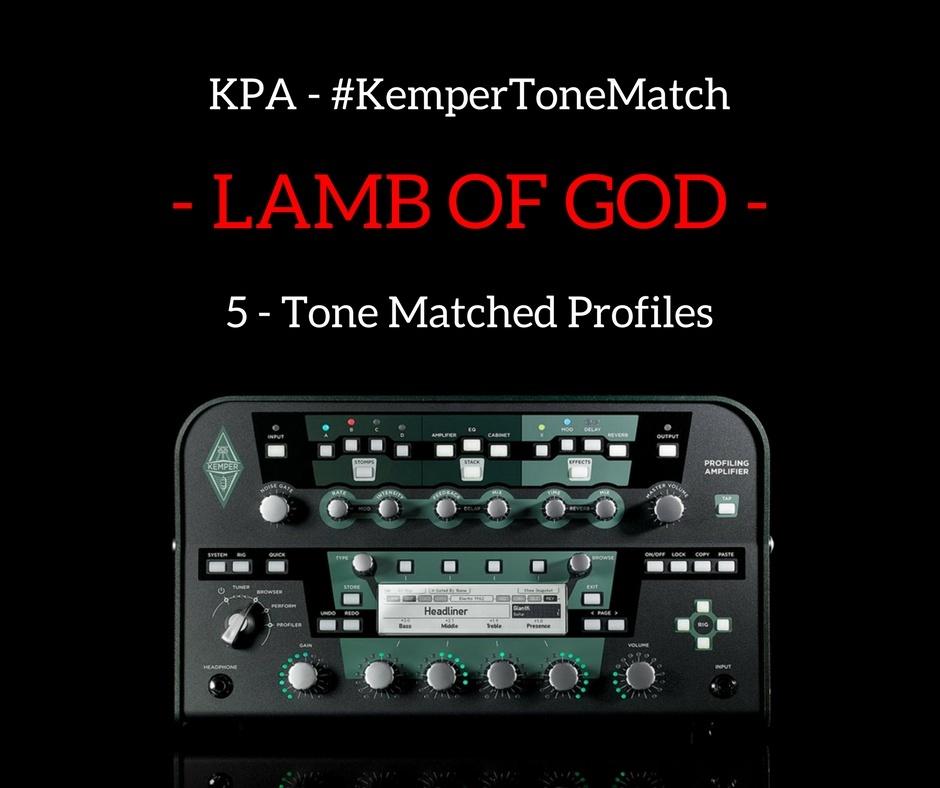 Kemper - Lamb of God Profiles (KPA)