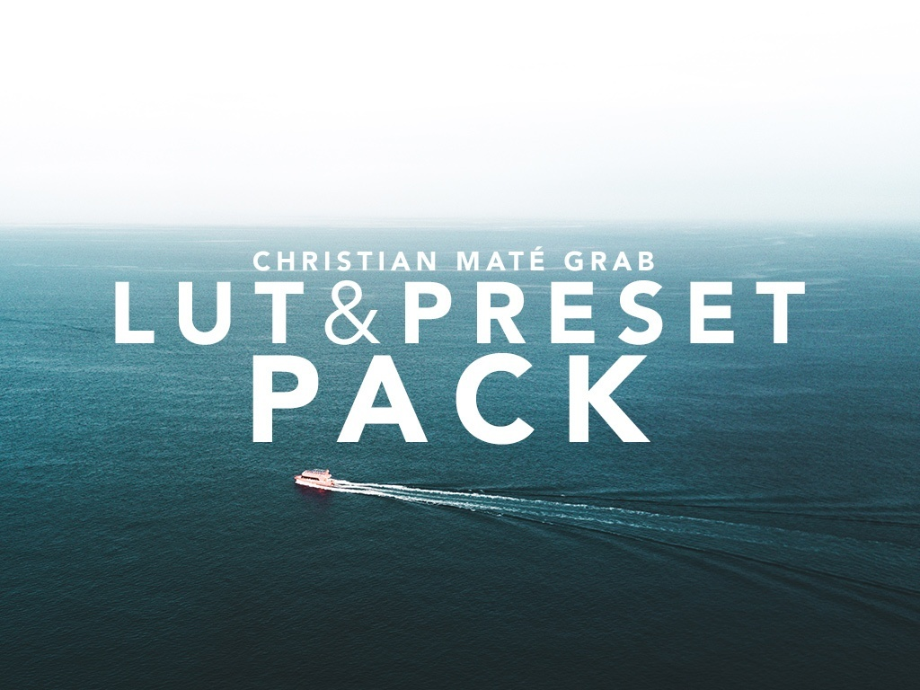 LUT & PRESET PACK by CMG
