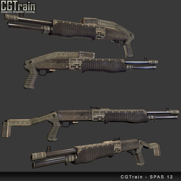 Special Purpose Automatic Shotgun – SPAS 12