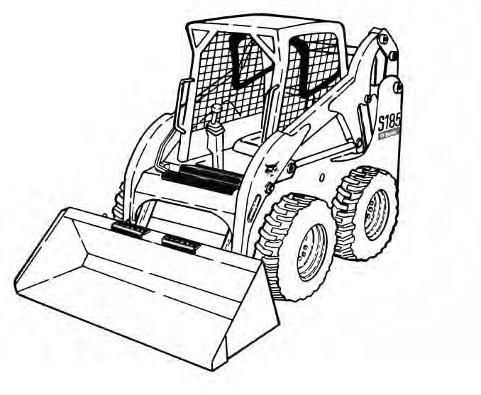 Bobcat S175 S185 Skid-Steer Loader Service Repair Manual Download(S/N 517625001 & Above ...)