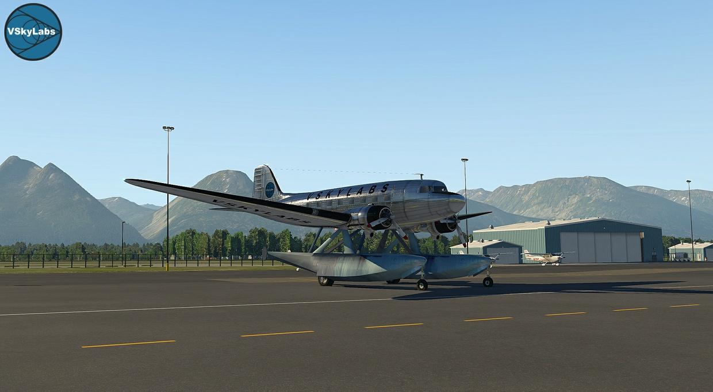 The VSKYLABS DC-3/C-47 Flying Lab Project v2.7b1