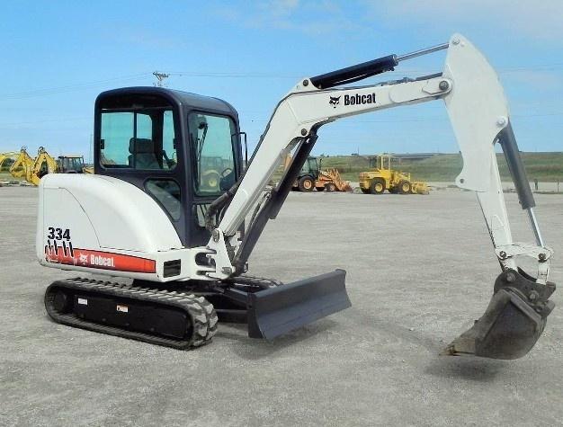 Bobcat 331, 331E, 334 Compact Excavator Service Repair Manual DOWNLOAD  (S/N AACS11001 & Above...)