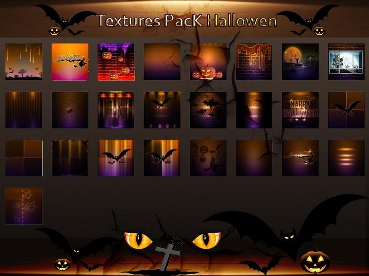 25_Textures Hallowen