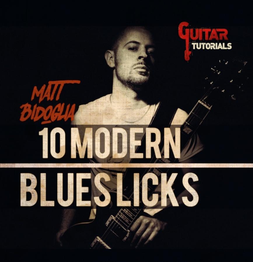 Matt Bidoglia - 10 Modern Blues Licks