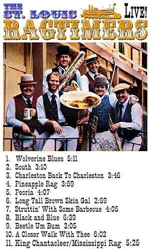 LIVE On The Goldenrod 1979, The St. Louis Ragtimers