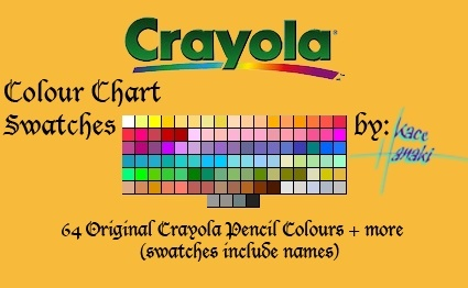 Crayola Pencils - 106 Swatches