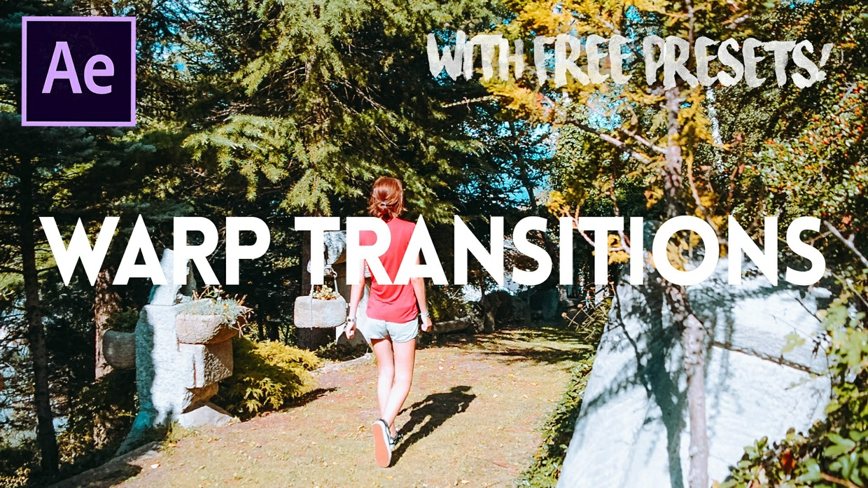 WARP TRANSITIONS - Super Easy to Use