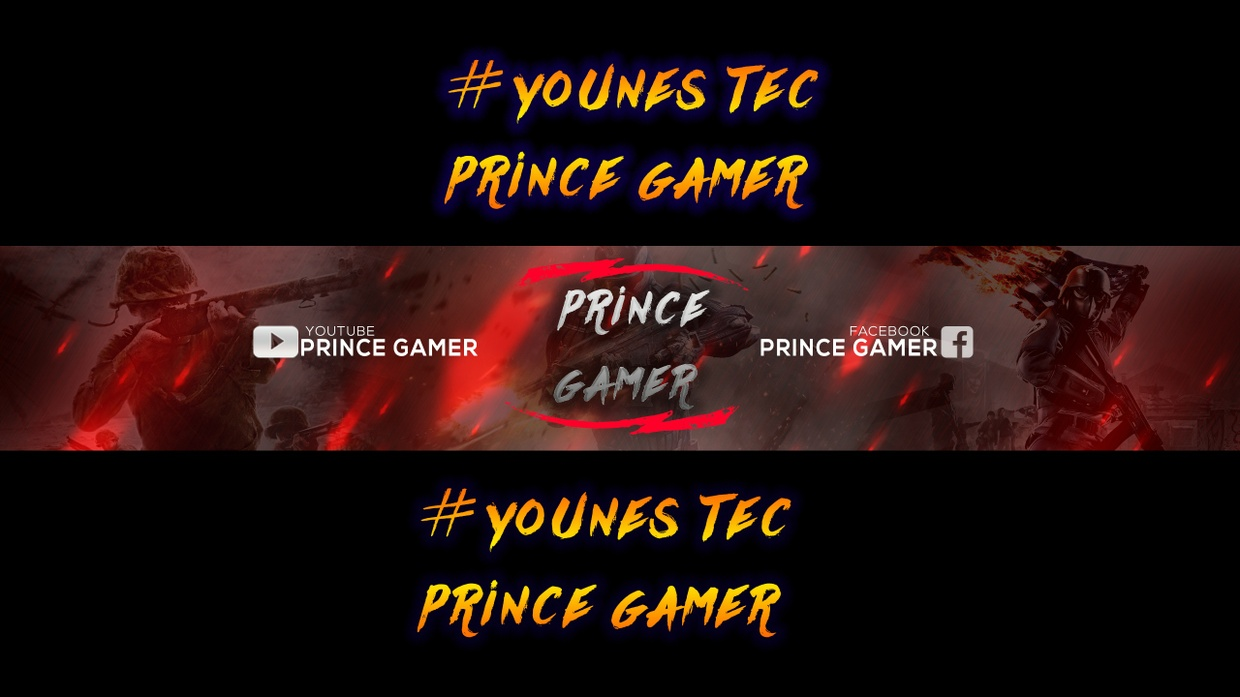 FREE GAMING BANNER TEMPLATE | BANNER PSD (Download For Free)