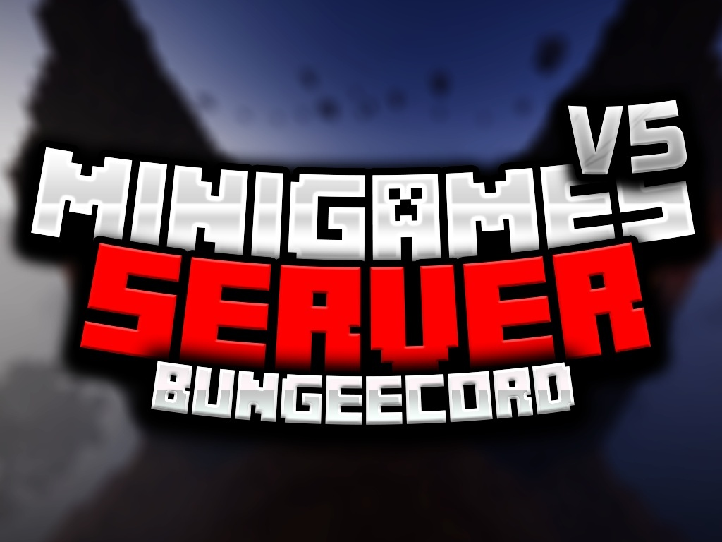 [BUNGEECOORD] BIG UPDATE! - MINIGAMES SERVER V5!