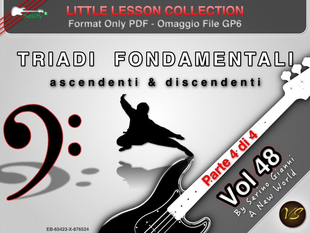 LITTLE LESSON VOL 48 - Format Pdf (in omaggio file Gp6)