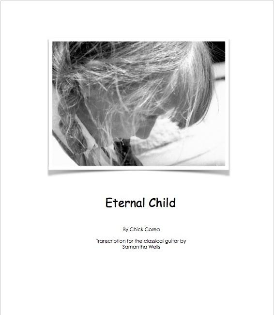 Eternal Child - Classical Guitar Transcription by Samantha Wells