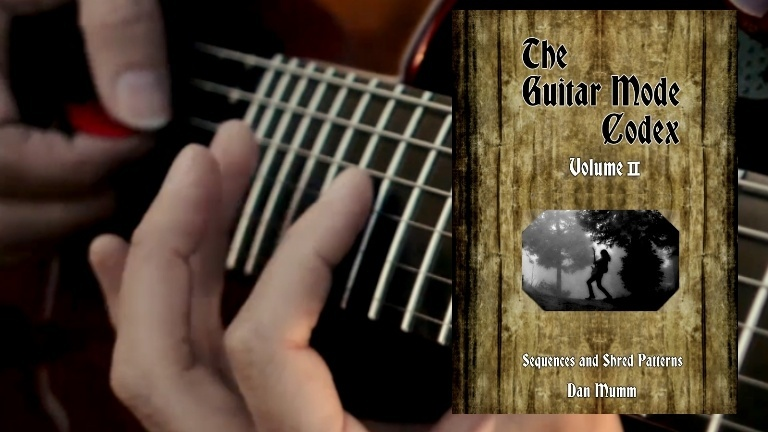 The Guitar Mode Codex - Volume 2 - PDF eBook and 38 Guitar Pro Tabs