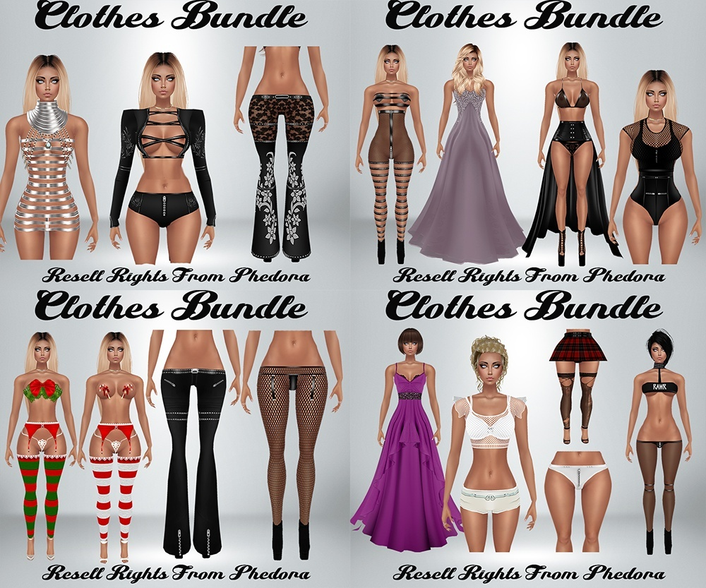 Clothes Bundle - Phedora Catty Only!! (27 Pieces) AP & GA
