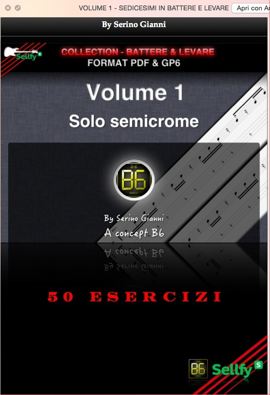VOLUME 1 & 2  - BATTERE & LEVARE COLLECTION - FORMAT GP6 & PDF