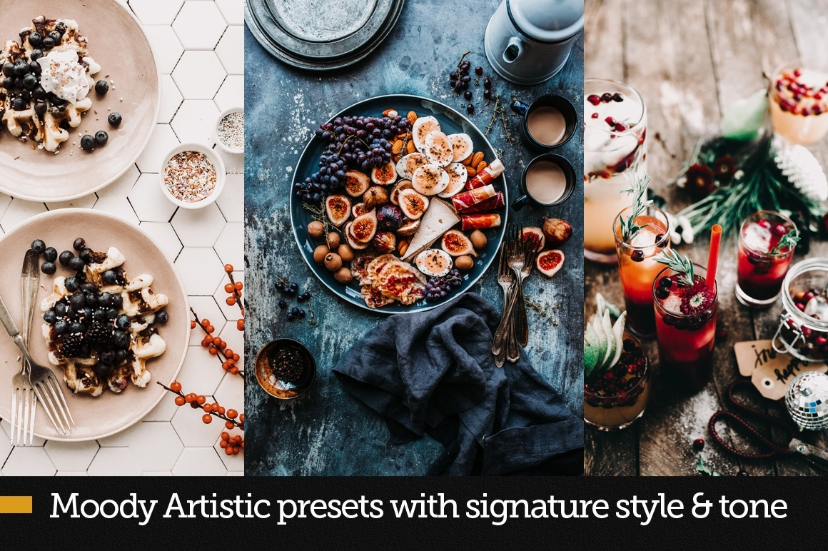 FoodKit - 42 Food Presets for LR and ACR