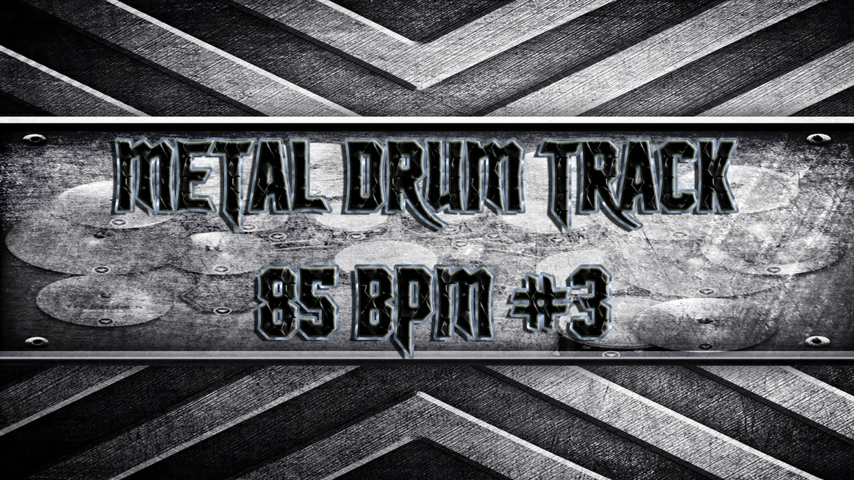 Metal Drum Track 85 BPM #3