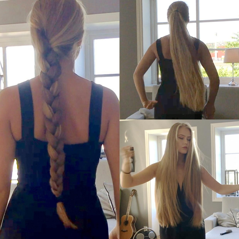 VIDEO - Norwegian blonde