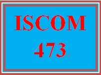 ISCOM 473 Week 4 Supplier Evaluation and Contract Review