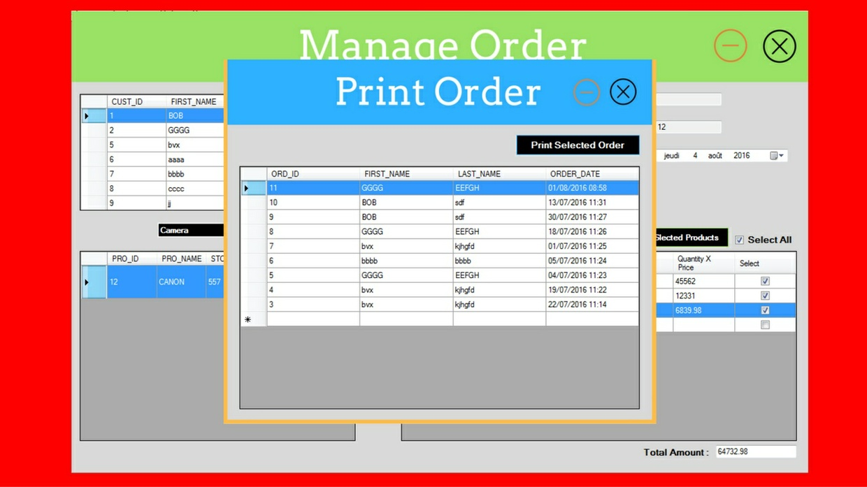C# Inventory Management System Source Code