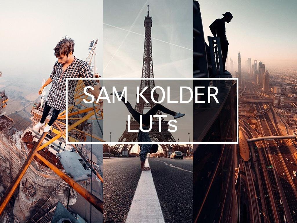 SAM KOLDER COLOR GRADING LUT PRESETS FOR LIGHTROOM, PREMIERE, PHOTOSHOP, AFTEREFFECT