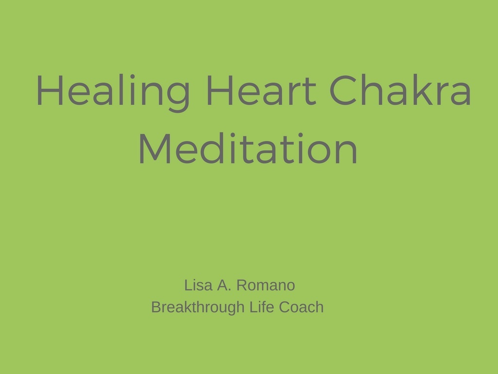 This meditation has been created to help you connect and heal the heart chakra.