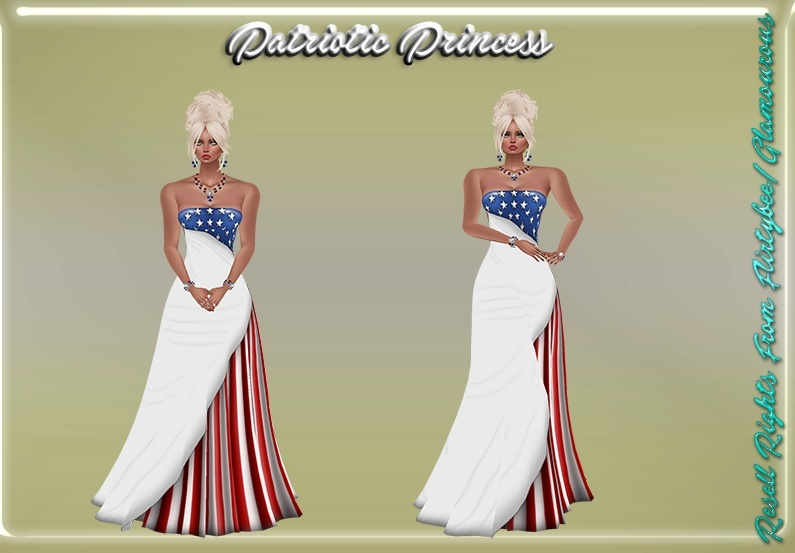 Patriotic Princess Catty Only!!!
