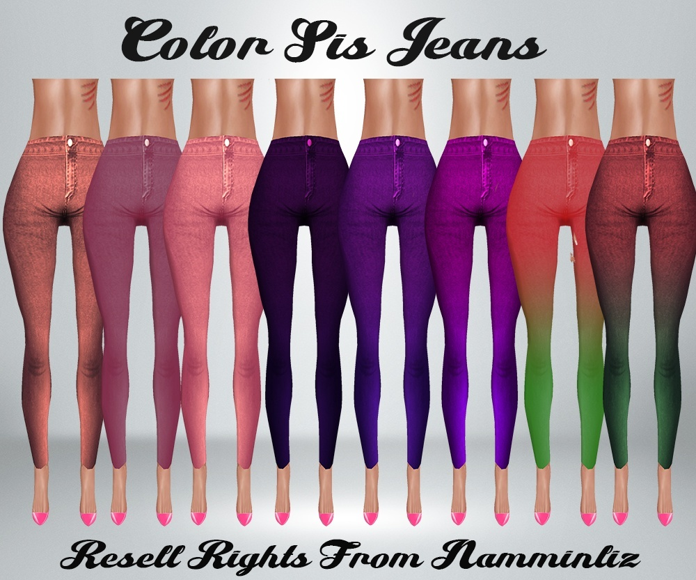 Color Sis Jeans Catty Only!!!