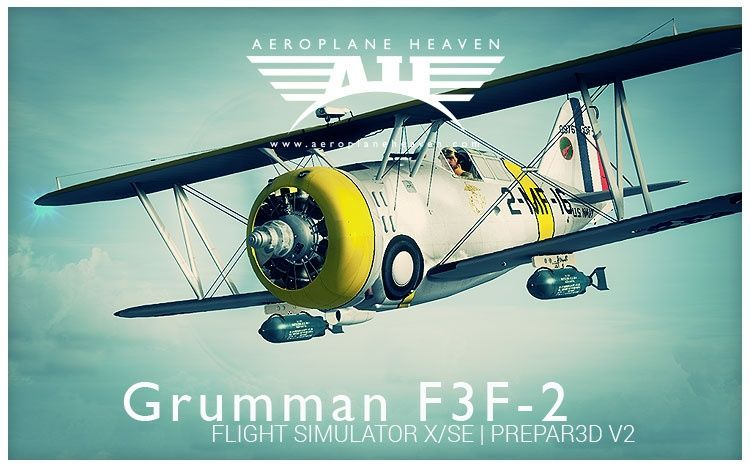 Aeroplaneheaven Grumman F3f-2 Add-on