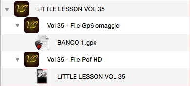 LITTLE LESSON VOL 35 - Format Pdf (in omaggio file Gp6)