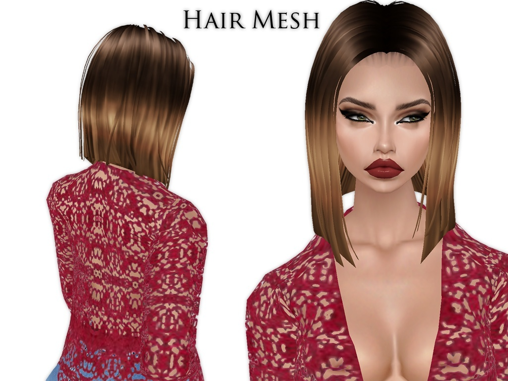 IMVU Mesh - Hair - Gwen