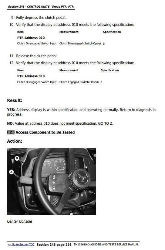 John Deere 5083EN, 5093EN, 5101EN Tractors Diagnosis and Tests Service Manual (TM112619)