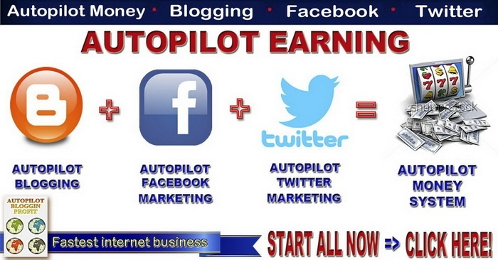 Autopilot Blogging Fast Money System