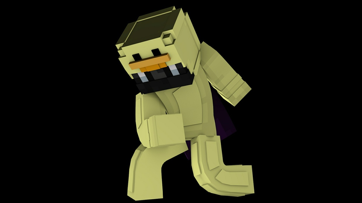 10 Minecraft Extrusion Renders