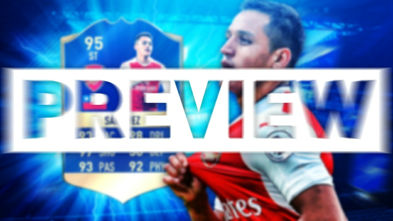 FIFA 17 TOTS SANCHEZ THUMBNAIL TEMPLATE